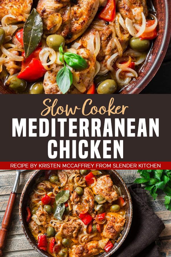 Pinterest Slow Cooker Mediterranean Chicken 2