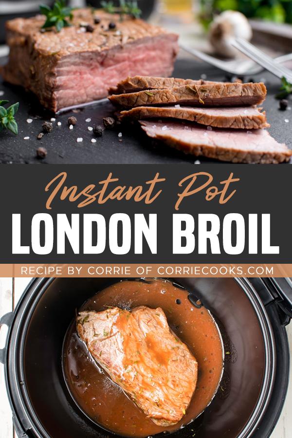 Instant Pot London Broil - Pinterest