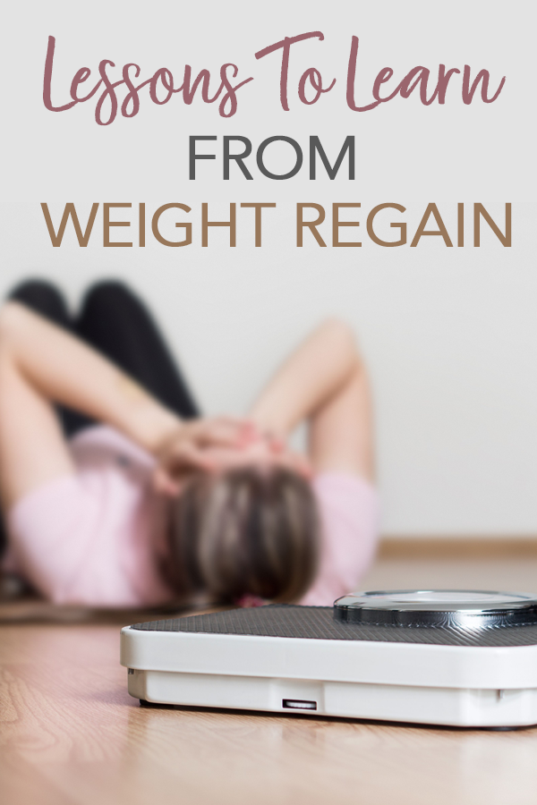 pinterest learn from weight regain