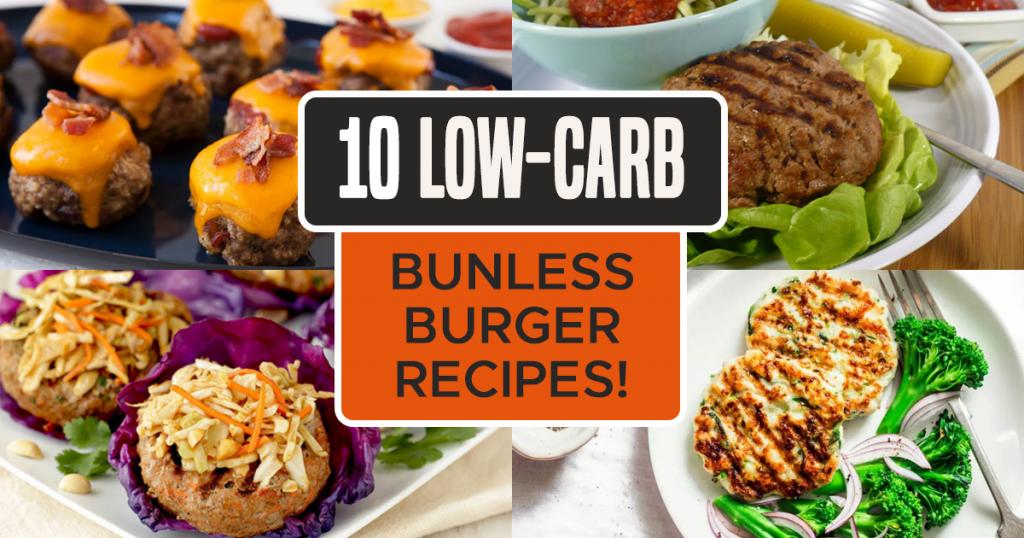 Low-Carb Bunless Burger