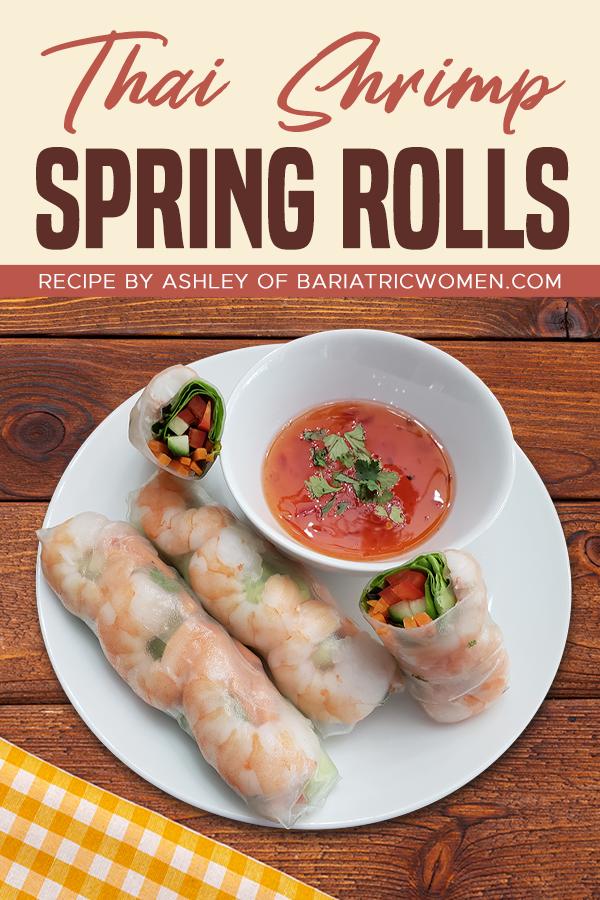Pinterest Thai Shrimp Spring Rolls
