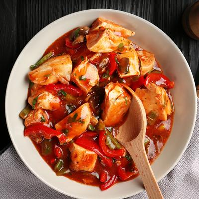 Slow Cooker Recipes - Chicken Cacciatore