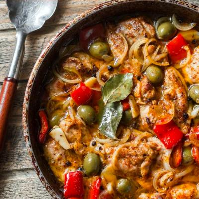 Slow Cooker Recipes - Mediterranean Chicken