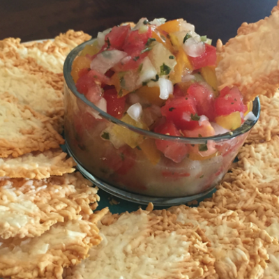 Low Carb Chips & Salsa