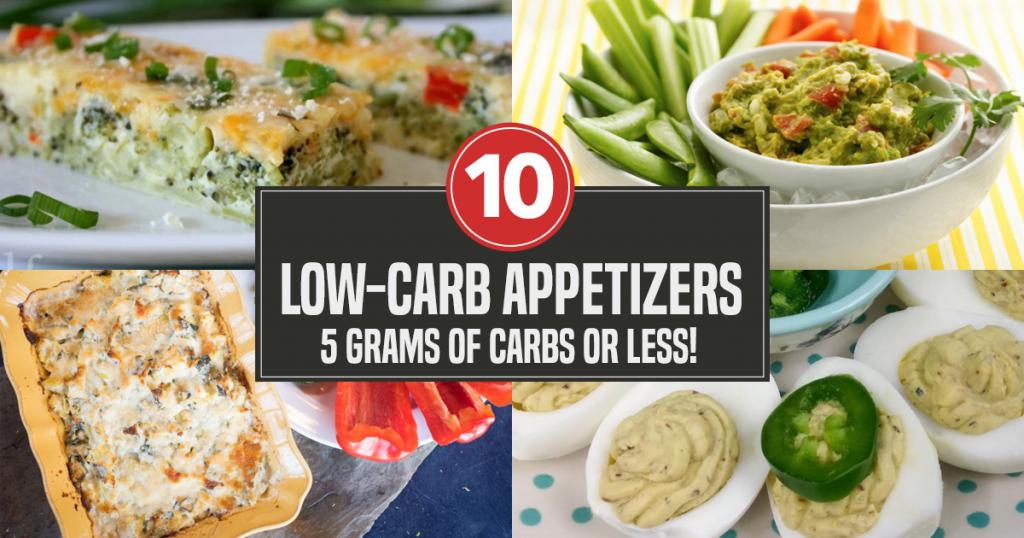 low-carb appetizer recipes