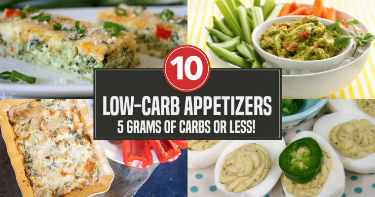 low-carb appetizer recipes