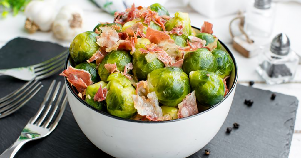 Instant Pot Brussels Sprouts With Bacon