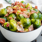 Instant Pot Brussels Sprouts With Bacon Recipe