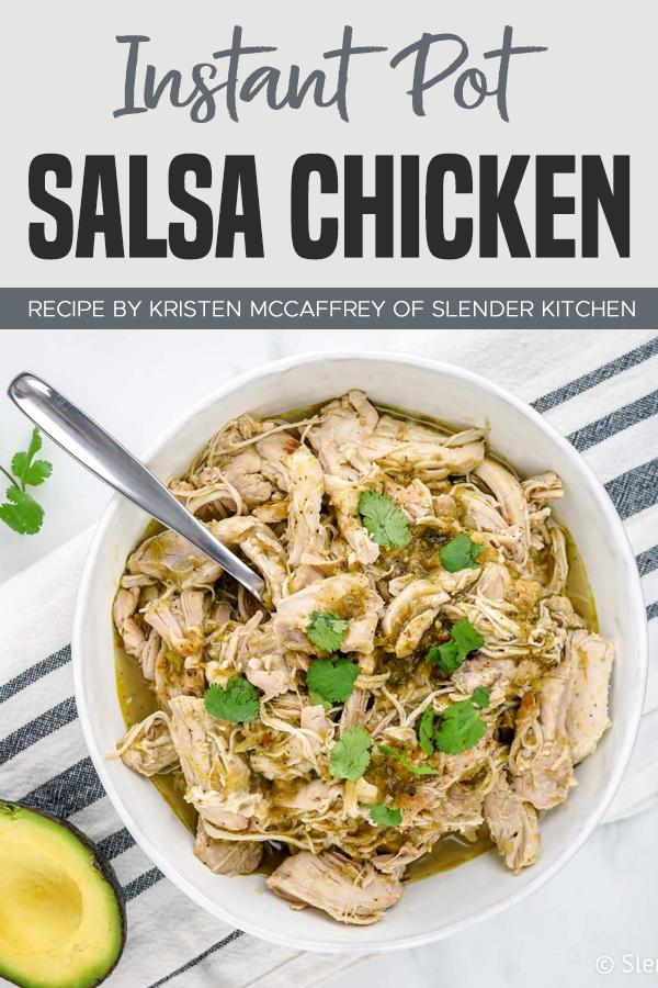 Pinterest Instant Pot Salsa Chicken