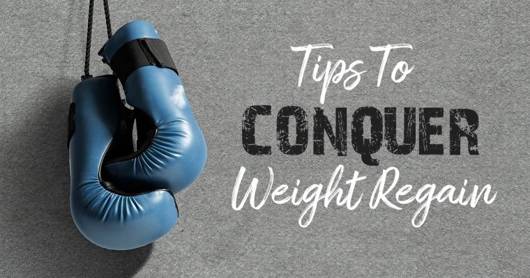 conquer weight regain