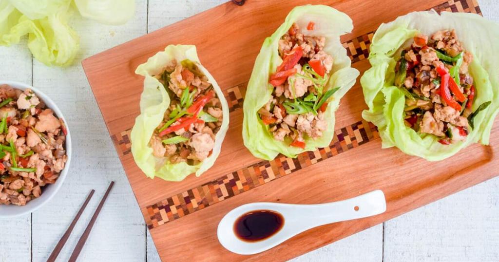 PF Changs Chicken Lettuce Wraps