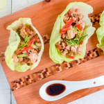 P.F. Chang's Chicken Lettuce Wraps Recipe Makeover – a Lower Carb Option!