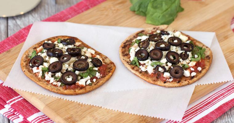 Flatbread Greek Pizza