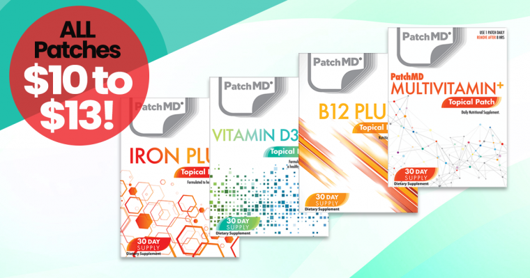 PatchMD Vitamin Patch Sale