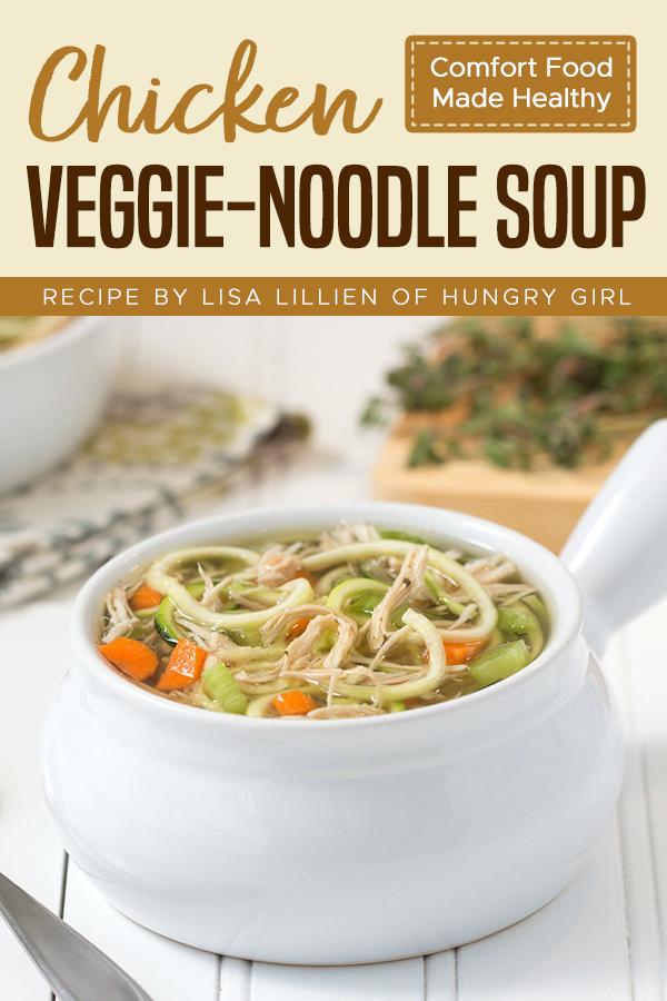 pinterest Chicken Veggie-Noodle Soup