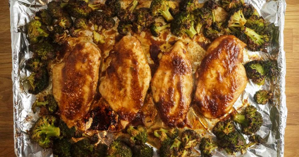 Spicy Peanut Chicken and Broccoli 2