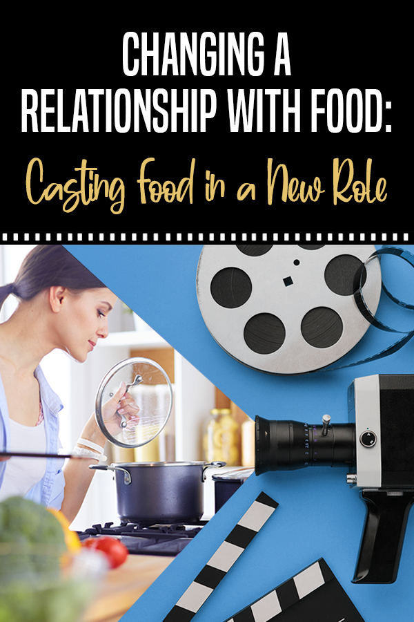 a relationship with food