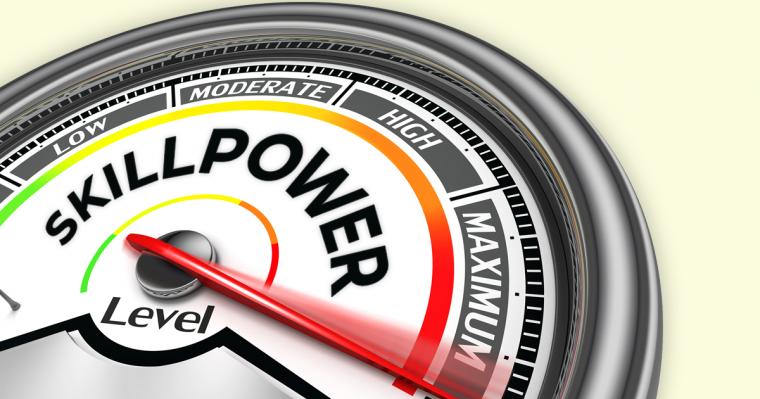 build skillpower not willpower