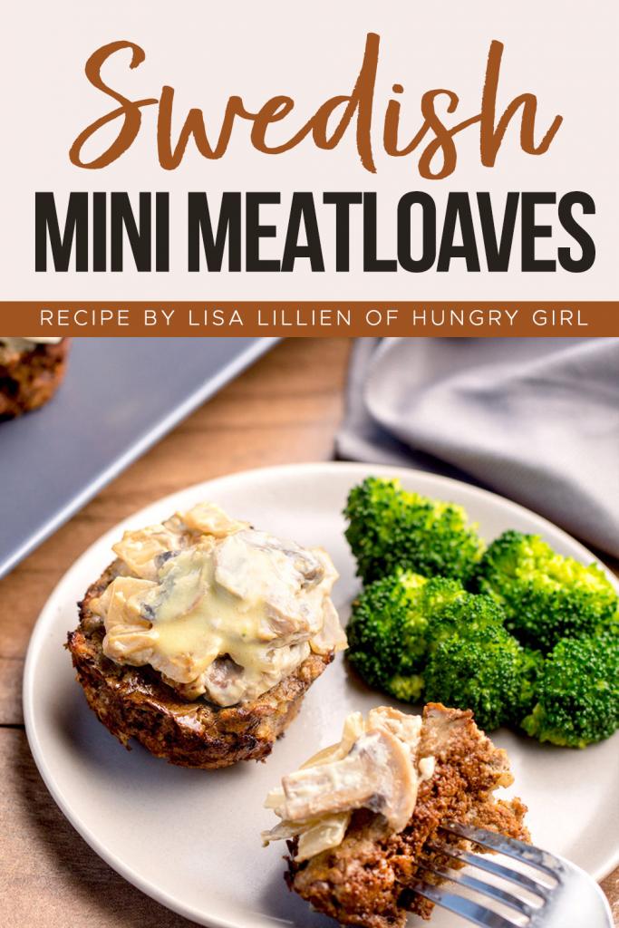 Swedish Mini Meatloaves