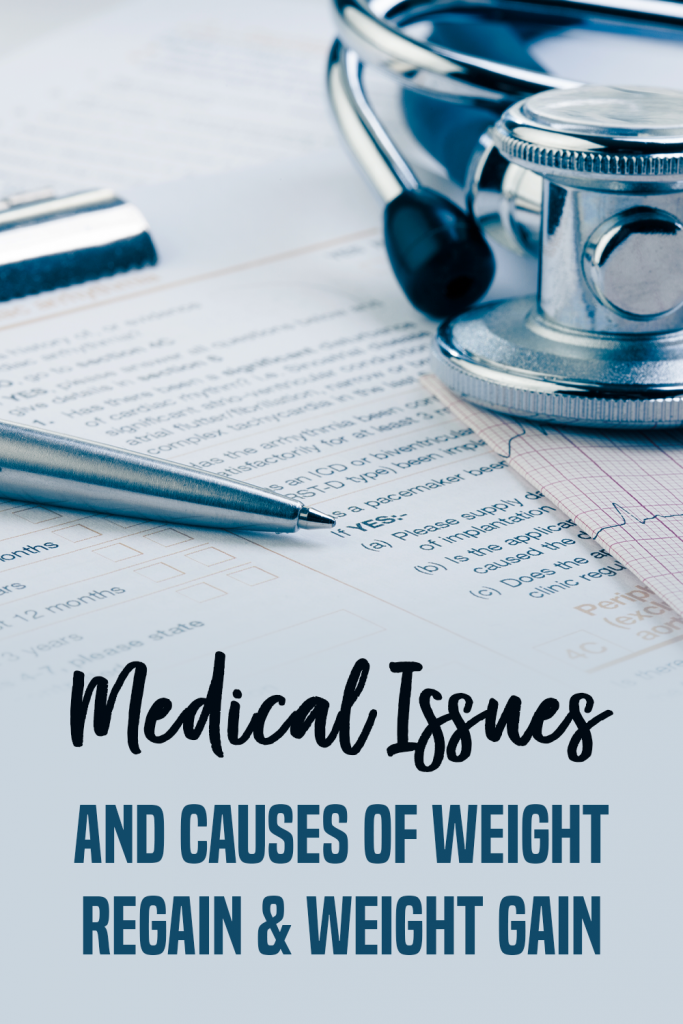 causes of weight regain