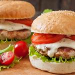 Healthy Ranch Turkey Burgers