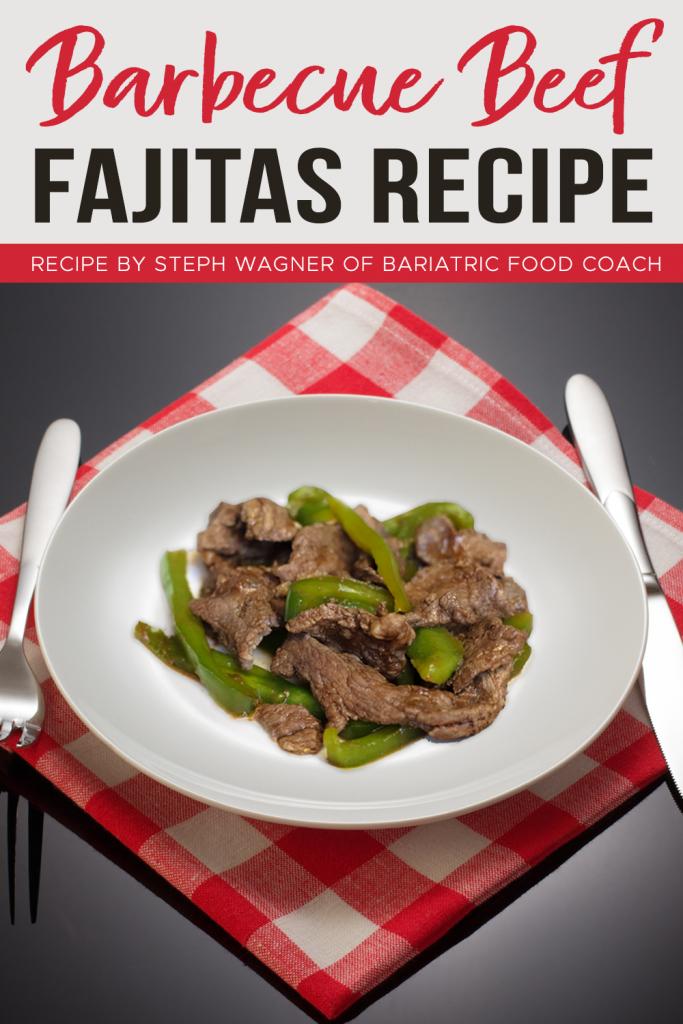 Barbecue Beef Fajitas