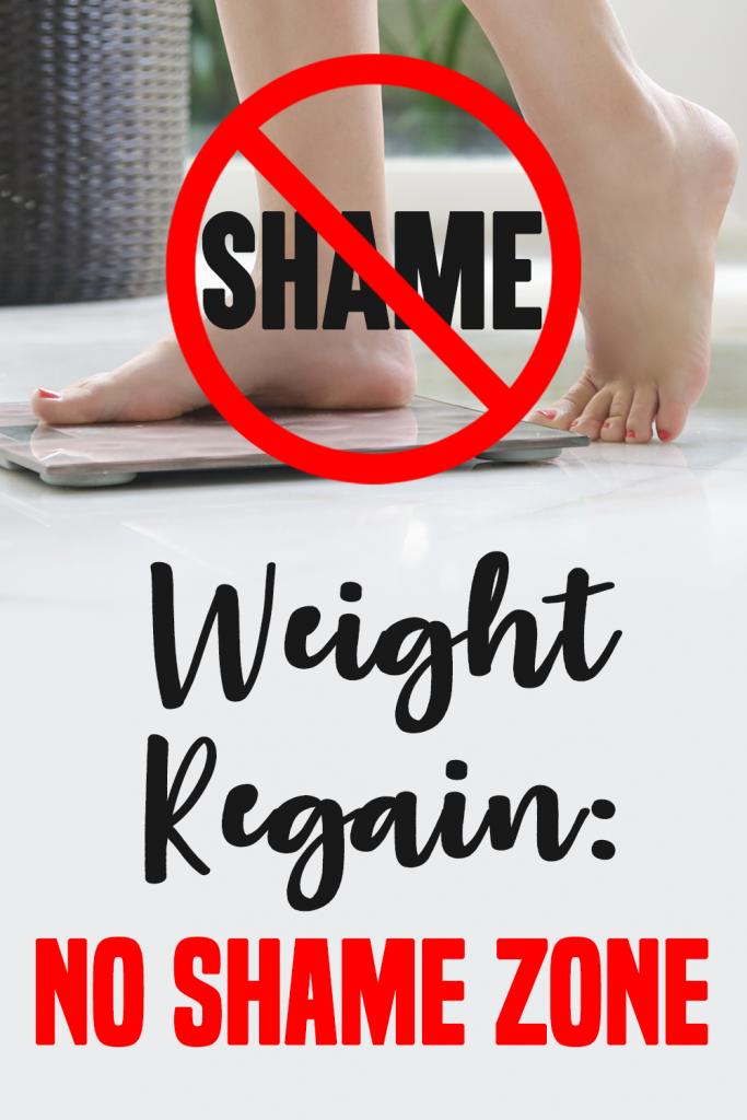 Weight Regain No Shame