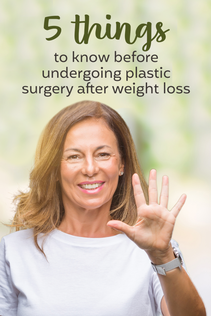 plastic surgery weight loss