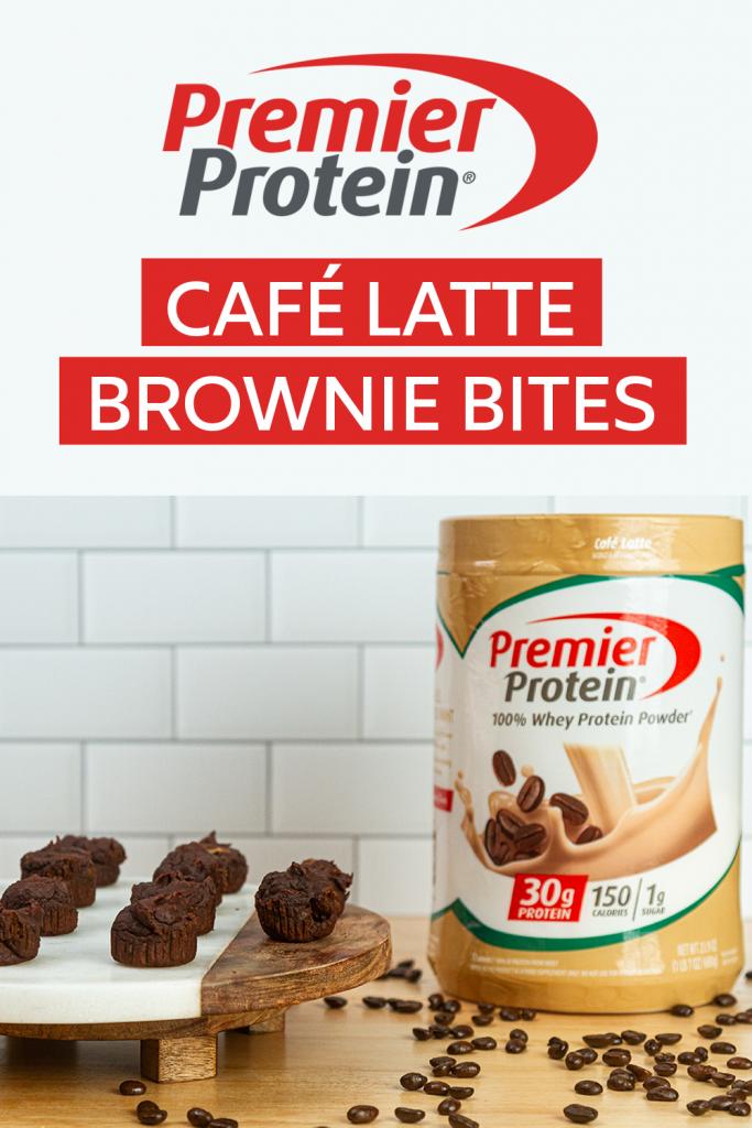 Café Latte Brownie Bites